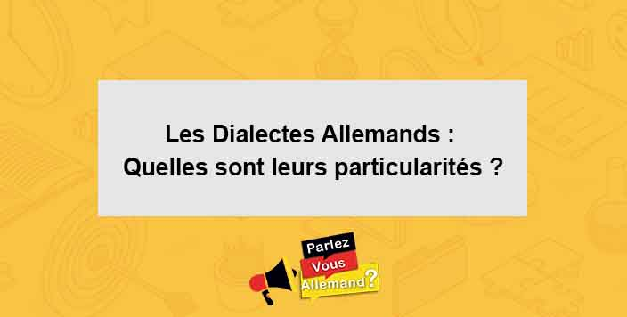 cours dialecte alledmand