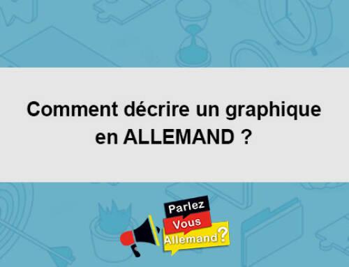 Comment décrire un graphique en ALLEMAND ?